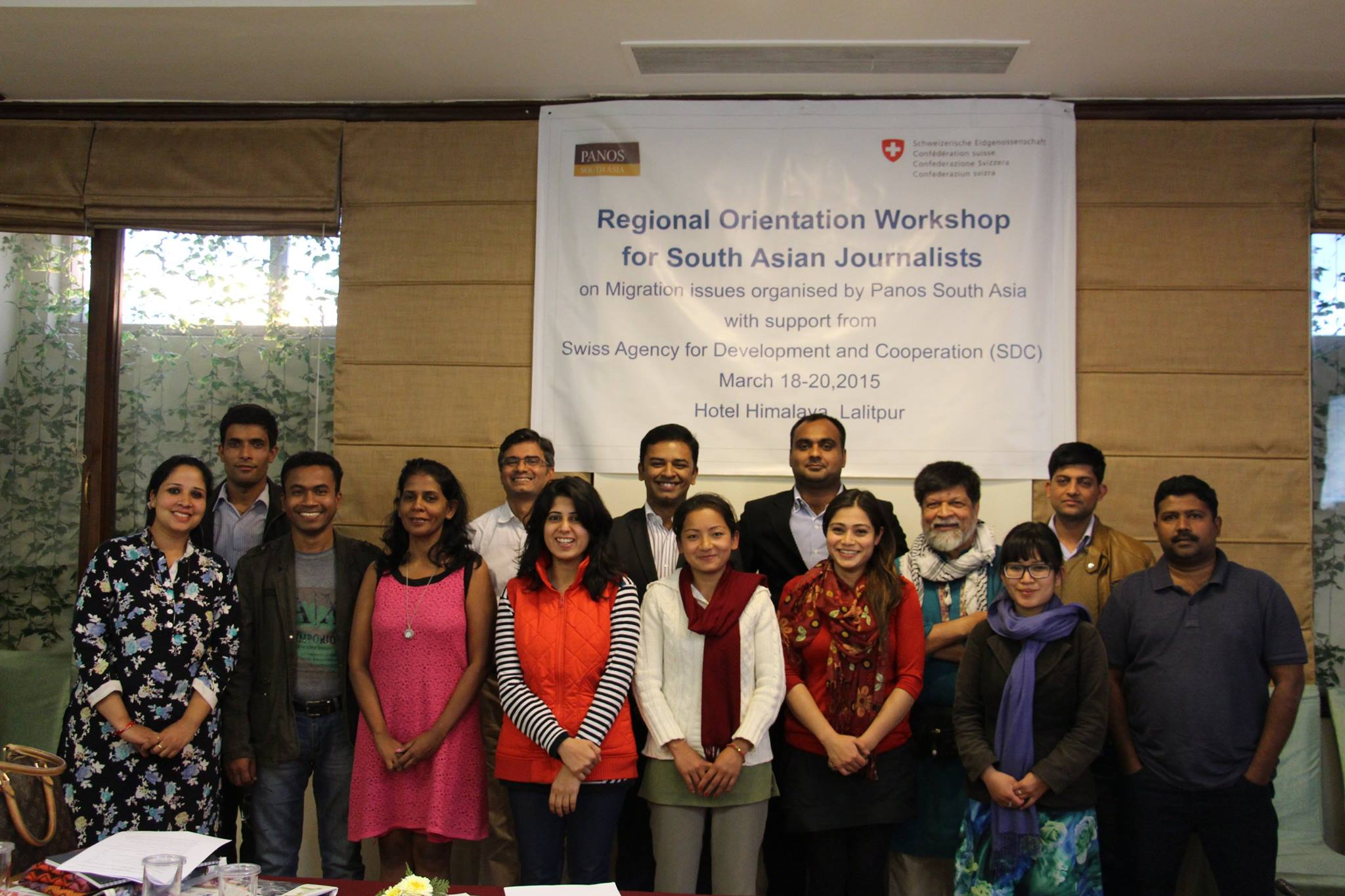 Panos South Asia Fellows, 2015