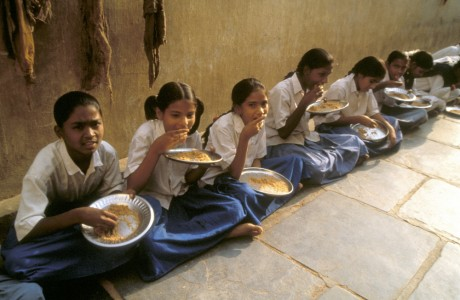 India school lunch programme
